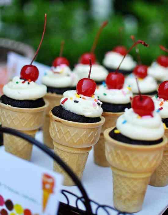 The Very Hungry Caterpillar Ice Cream Cones