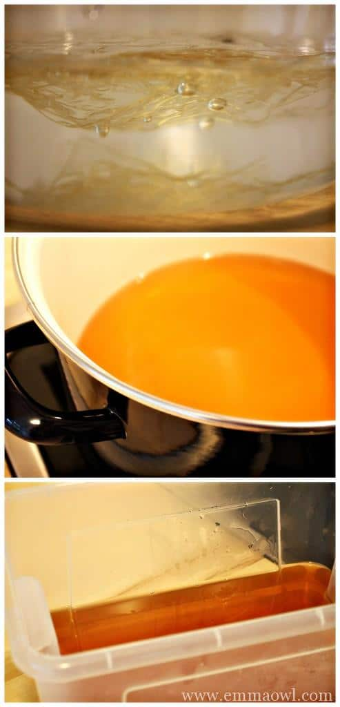 Making A tub of Jelly