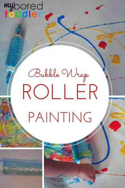 Bubble-wrap-roller-painting-pinterest