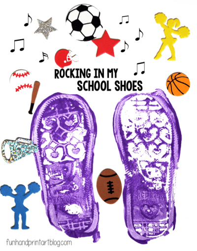 Shoe-Print-Craft