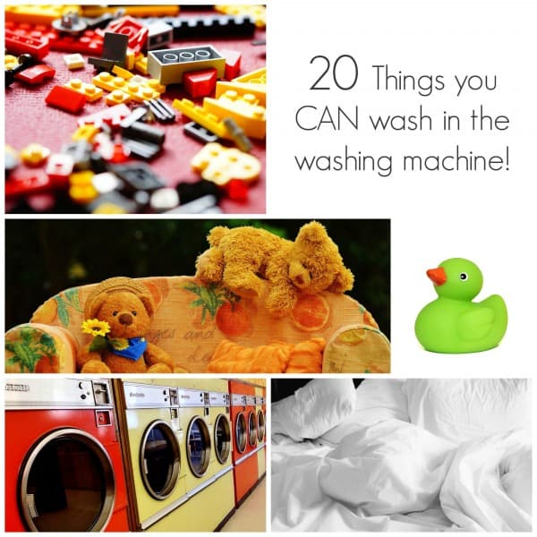 20 things you can definitely wash in the washing machine