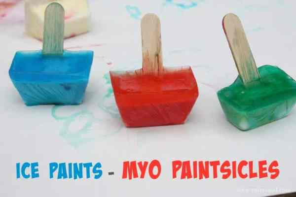 MYO Paintsicles - ice paints