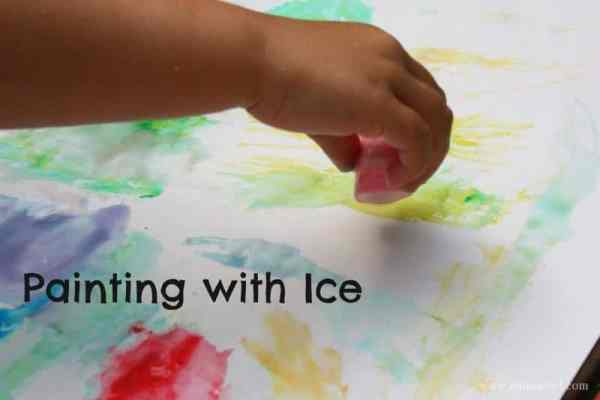 Painting with Ice