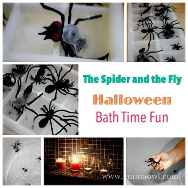 Spider and the Fly - Halloween Bath Time Fun