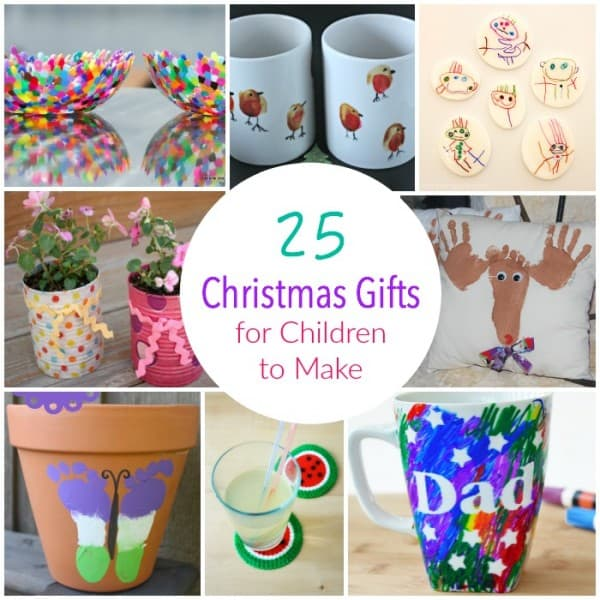 25 Christmas Gifts for Children to Make
