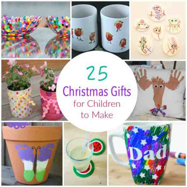 25 Christmas Gifts Made by Children - Emma Owl