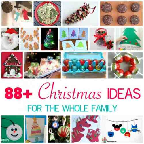 88 + Christmas Ideas for the Whole Family