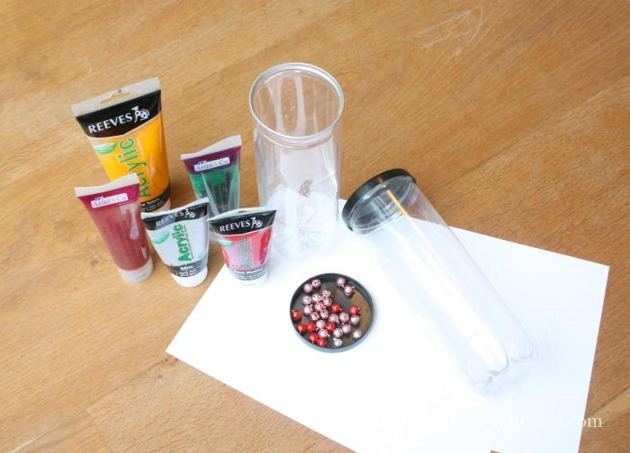 Materials Needed for Jingle Bells Painting