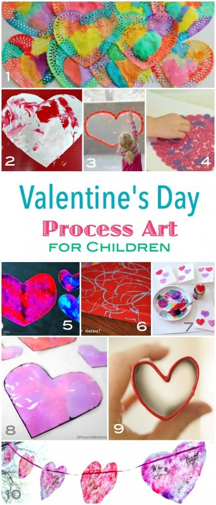 Some great open free process art ideas for children