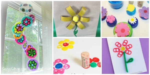 Recycled Flower Crafts
