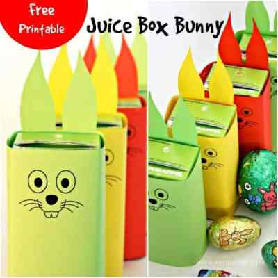 Juice Box Bunny Free Printable