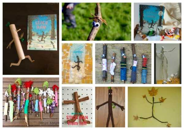 Stick Man Craft and Story Telling Ideas