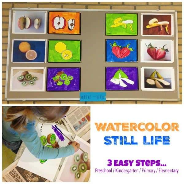 Watercolor Still Life - 3 Easy Steps