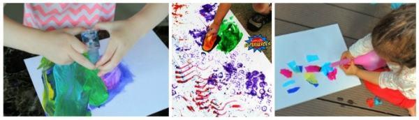 Hundreds of Painting Ideas for Children