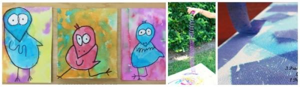 Painting ideas for kids - over 200