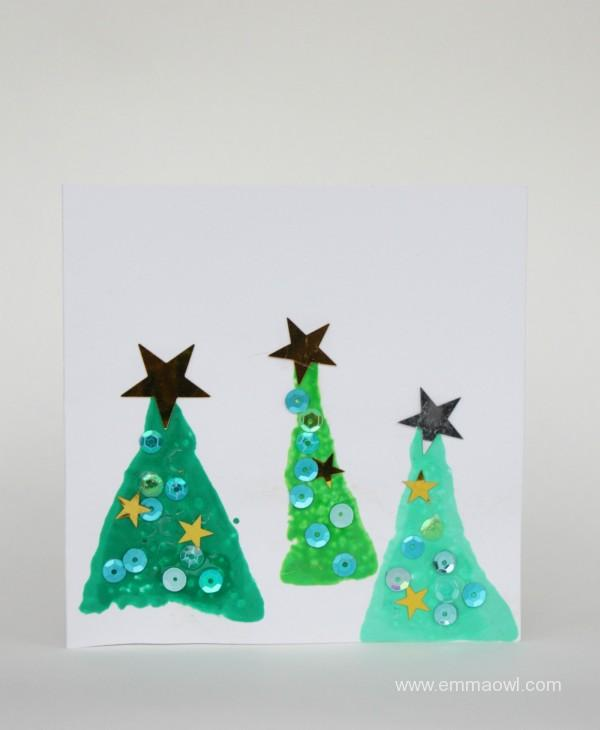 child-made-christmas-cards