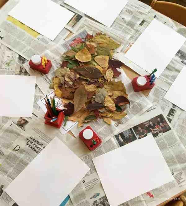 leaf-animal-table