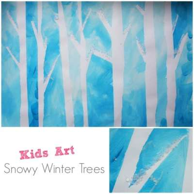 winter-trees-tape-resist-paiting