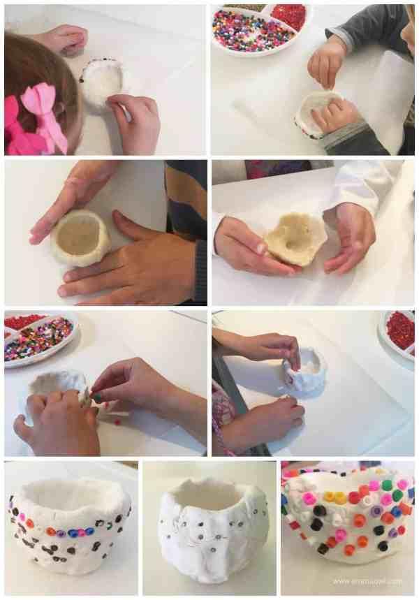 making pinch pots copy