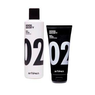 Good-Society-02-Rich-Color-Shampoo + Balsamo-250ML