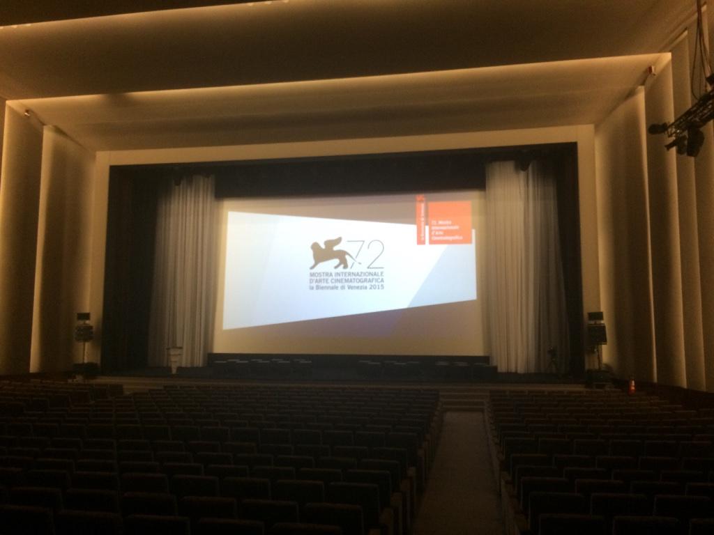 Festival del cinema di Venezia 2015