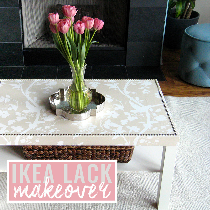 Ikea Lack Coffee Table Makeover - After