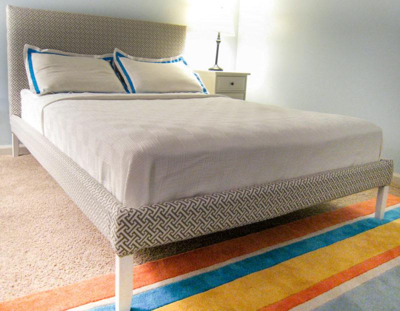 How to upholster Bed Ikea Fjellse
