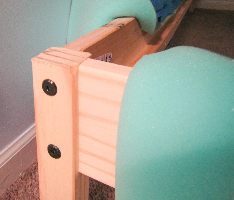 Ikea Fjellse - leveling foot board