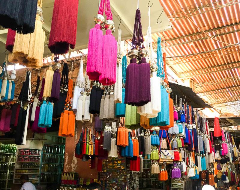 Tassel tie backs Morocco