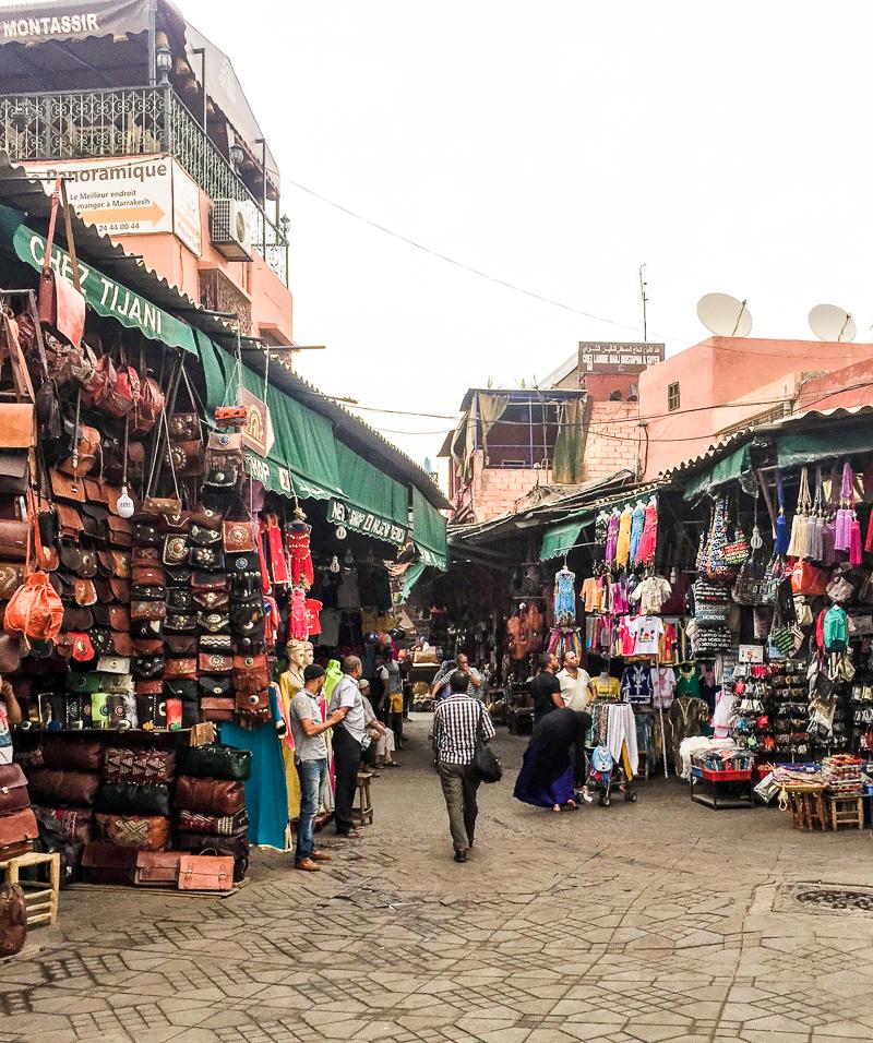 Entrance to Moroccan Souk