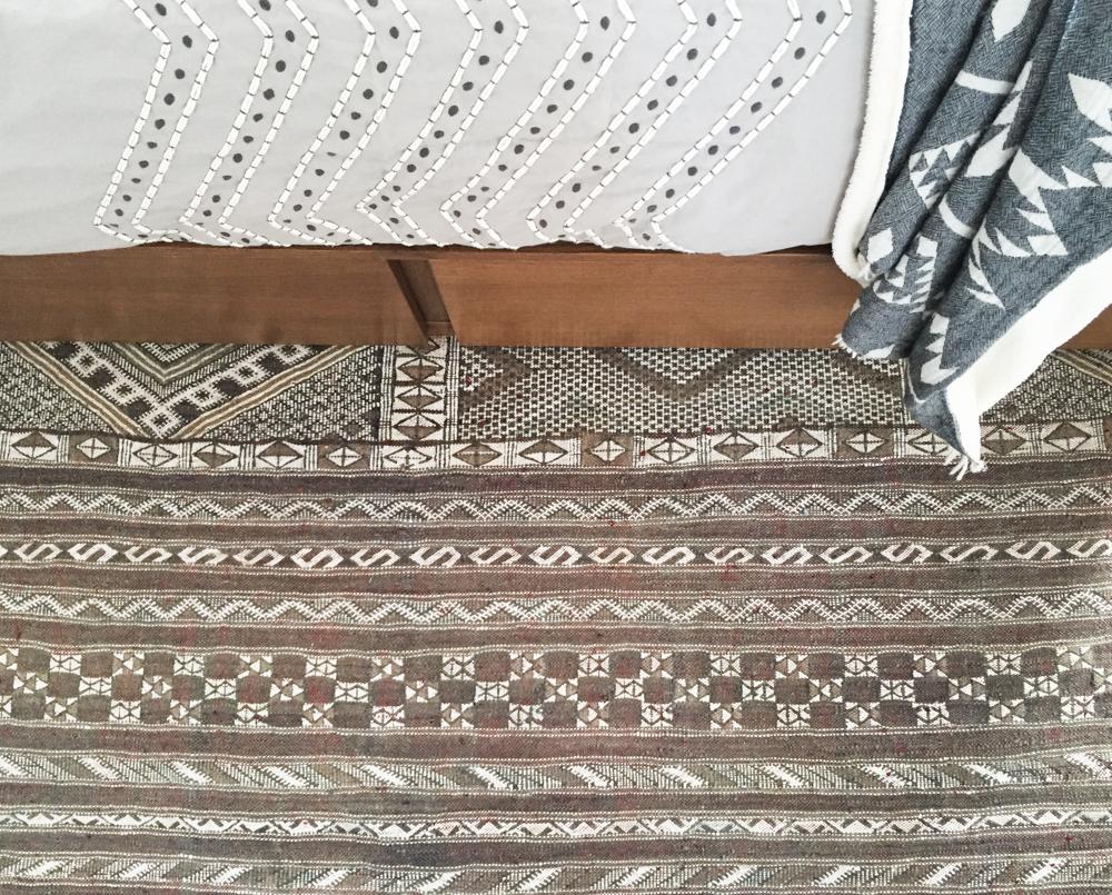 One Room Challenge Bedroom Progress Rug