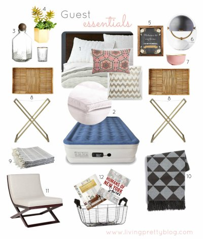 Mood Board - How to Make Over-Night Guests Feel At Home