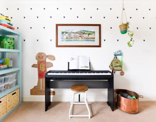 Mint Coral Navy Boys Room Kids Room Lightbox-9