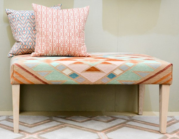 African Inspired & Blush Pink Texiles via A Rum Fellow