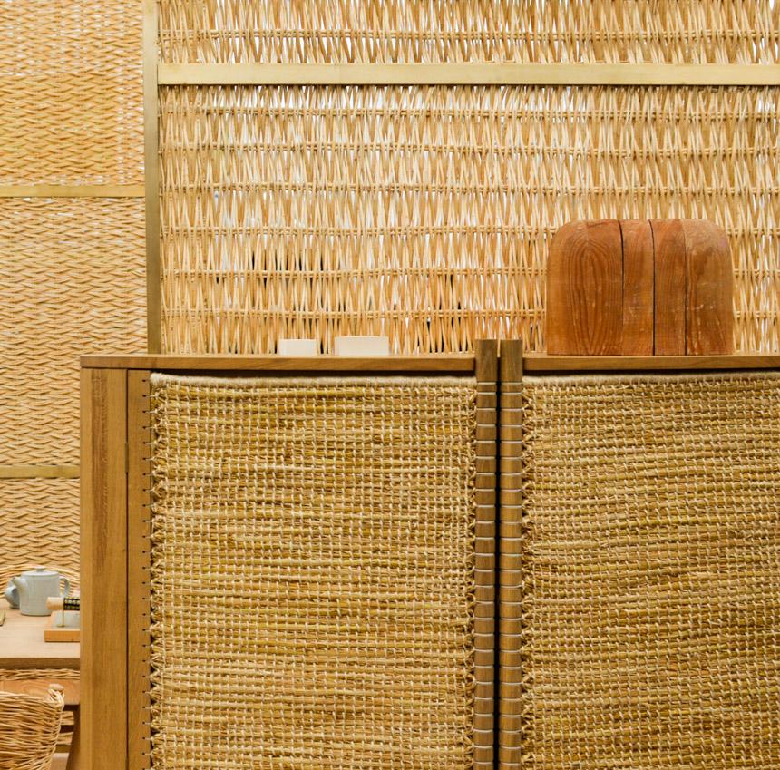 2017 Interior Design Trends Home Decor Trend Report - Woven Rattan via The New Craftsmen