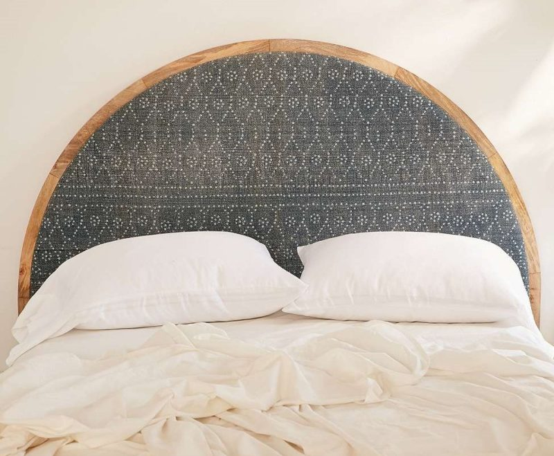 Urban Outfitters Arc Upholstered Headboard