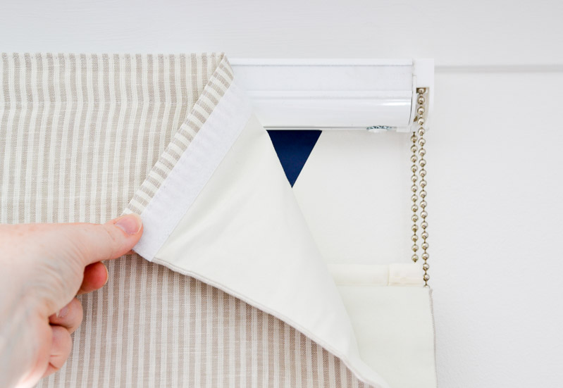 Easily removable custom roman blinds - Blinds2Go Review