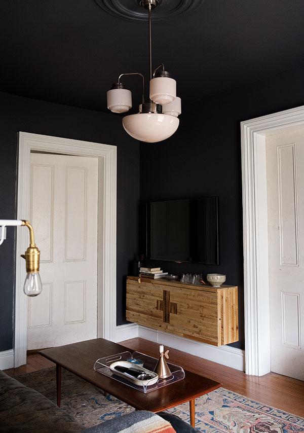 DIY Cabinet & Den Makeover - Manhatten Nest