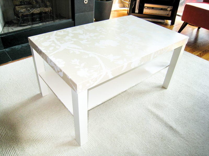 Diy An Ikea Lack Hack Coffee Table Makeover Emmerson And Fifteenth