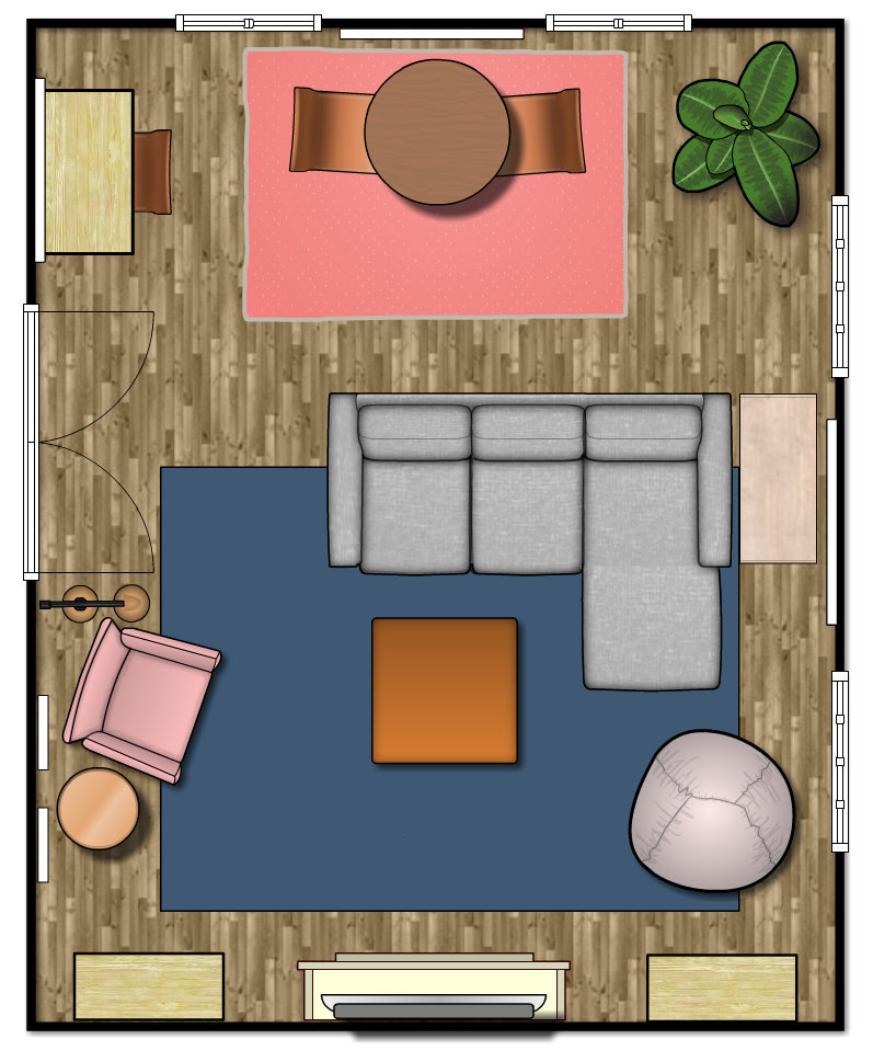 Family Media Room Floor Plan Emmerson & Fifteenth