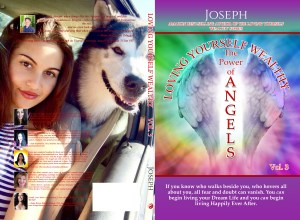 Loving yourself wealthy The power of Angels book cover