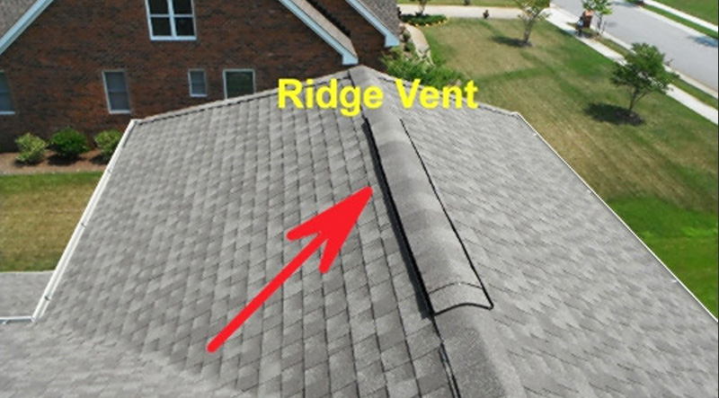 a ridge vent system on my roof