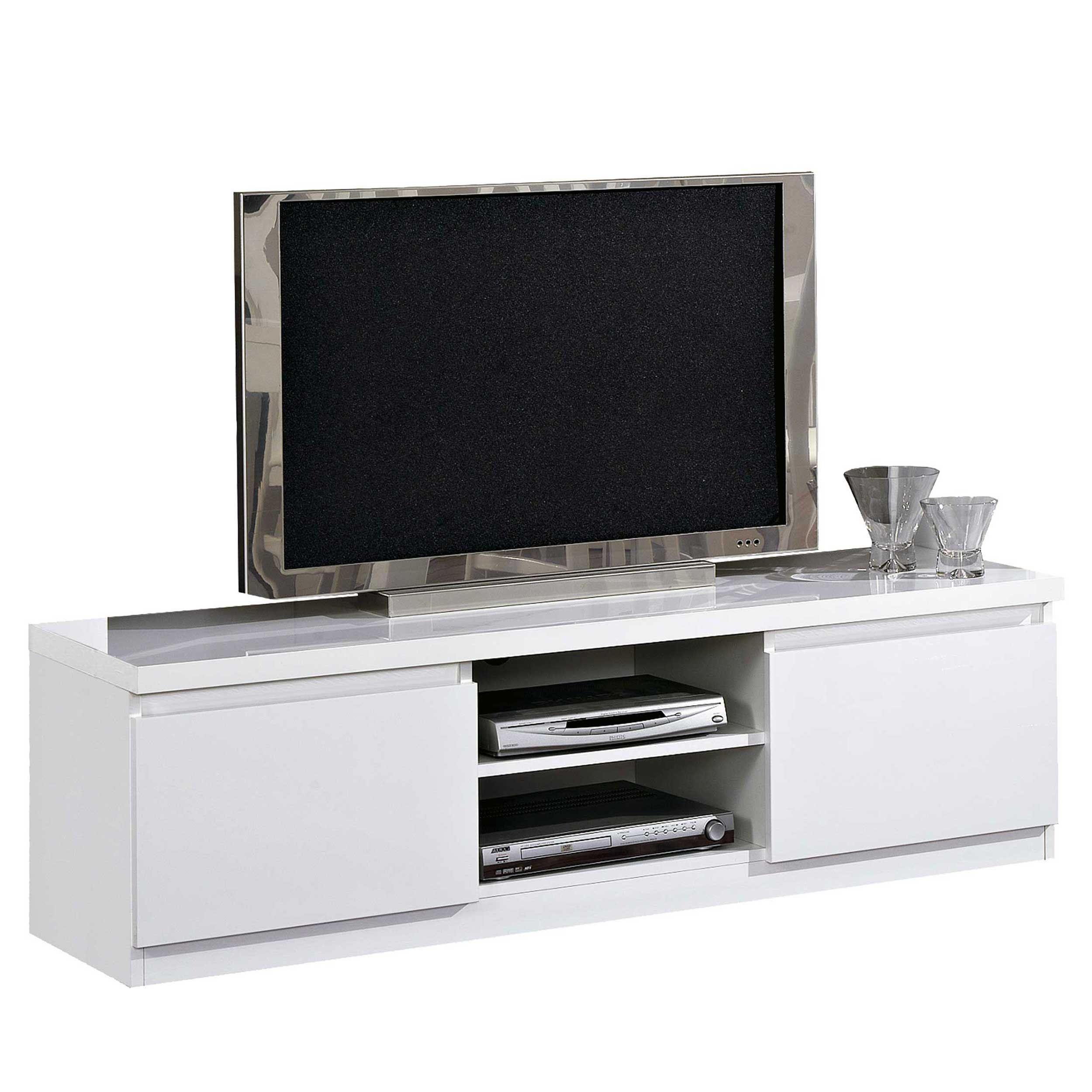 meuble tv roma 150cm blanc