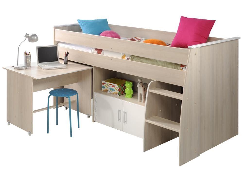 lit combine carlos avec bureau