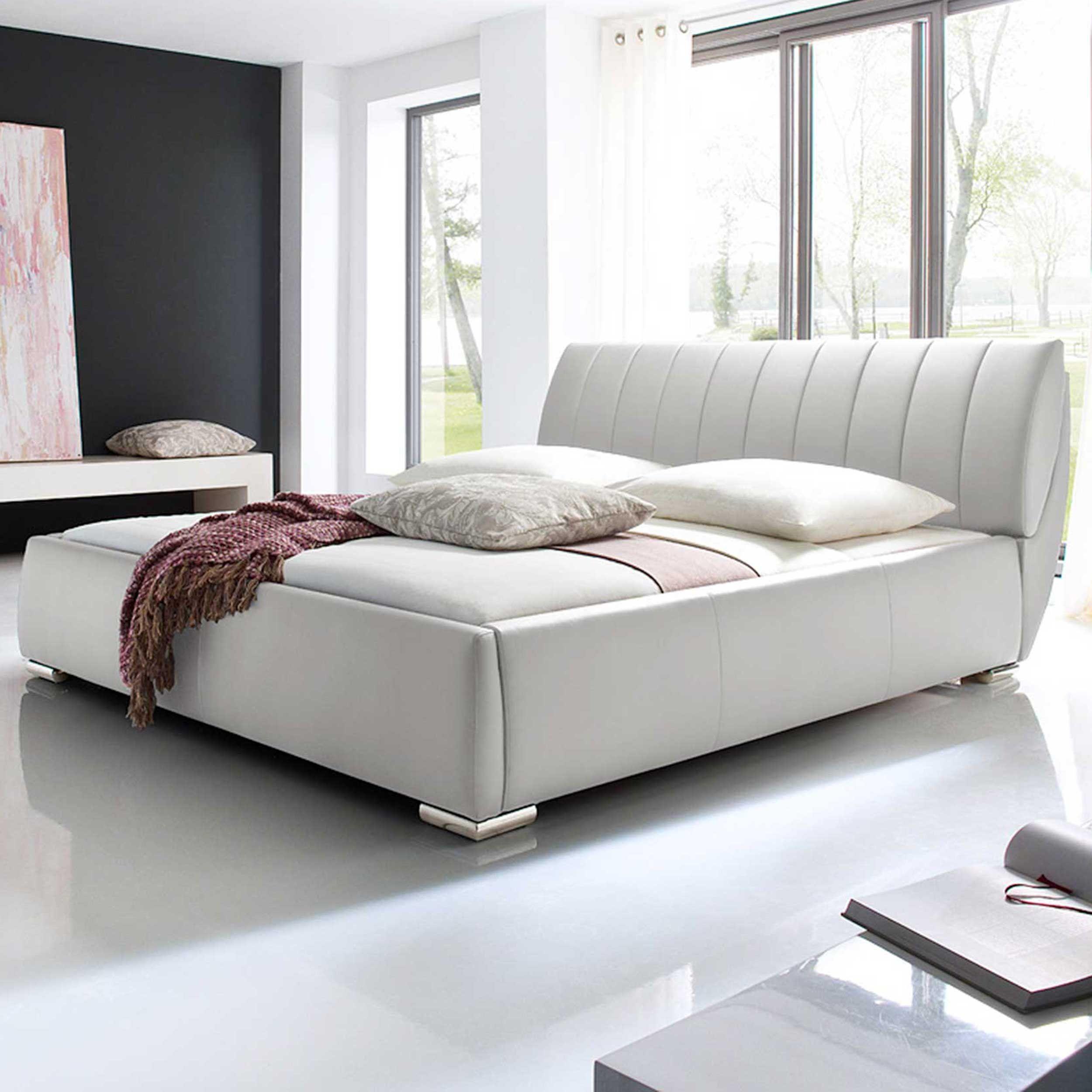 lit coffre davos 180x200 blanc