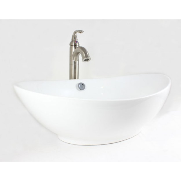 white / biscuit / black porcelain ceramic countertop bathroom vessel