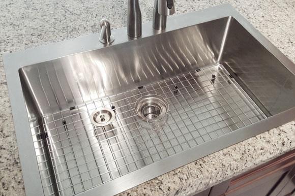 stainless steel 16 gauge kitchen sinks
