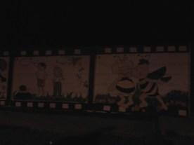 Outside of an elementary school.