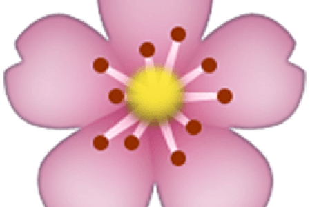Pink flower emoji facebook the emoji flower from mario game source how to flower emoji on facebook image gallery mightylinksfo