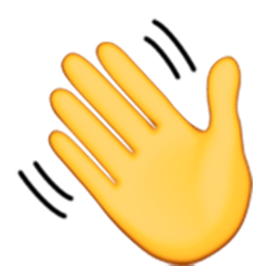 Image result for emoji waving